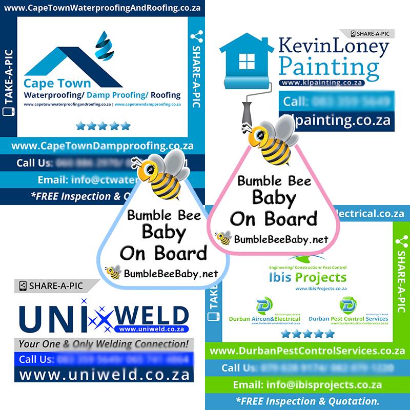 Switchon My Media   Portfolio: Stickers + Signage Design