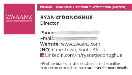 Switchon My Media   Portfolio: Business Card Design