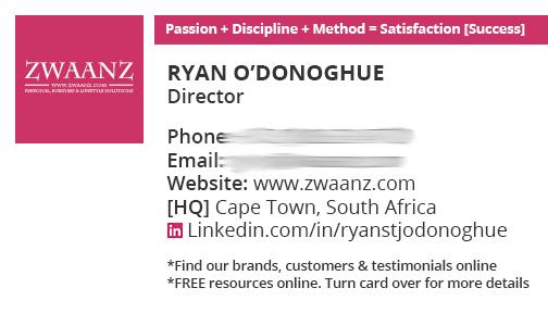 Switchon My Media | Portfolio: Business Card Design