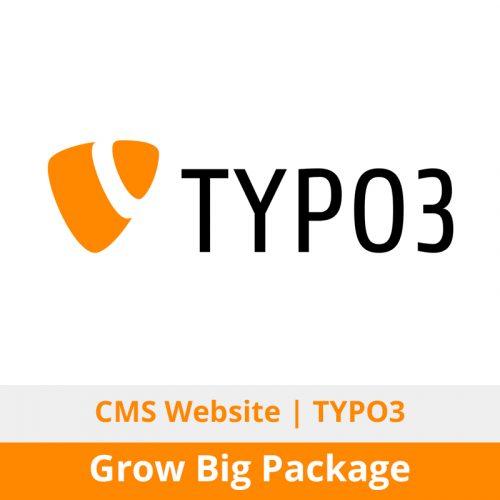 Switchon My Media | Typo3 CMS Website Design + Development | Grow Big Package
