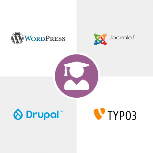 Switchon My Media   Content Management System (CMS) Training Package   Various Technologies - WordPress (WP) / Joomla / Drupal / Typo3