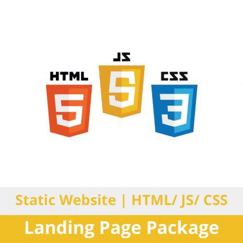 Switchon My Media | Static Website Design + Development | Landing Page Package | HTML / JavaScript (JS) / Cascading Style Sheet (CSS)