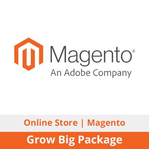 Switchon My Media | Magento eCommerce / Online Store Design + Development | Grow Big Package